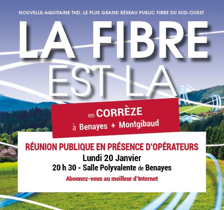 LA FIBRE À BENAYES + MONTGIBAUD