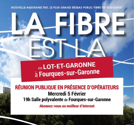 LA FIBRE A FOURQUES/GARONNE