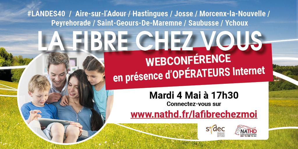 Webdirect avec les opérateurs le 4 mai à 17h30